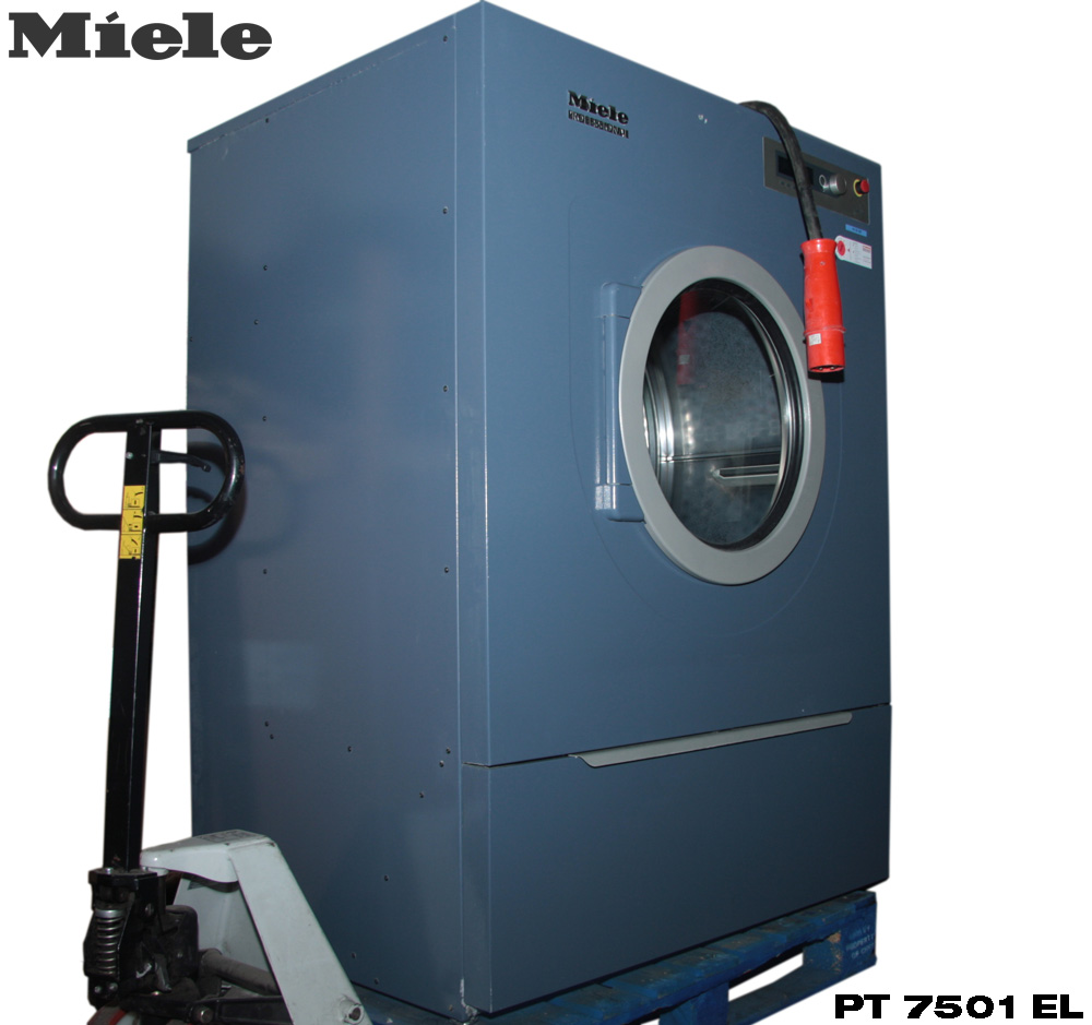 miele pt 7501 el professional industrial dryer pt7501el dryer tumble dryer ebay. Black Bedroom Furniture Sets. Home Design Ideas